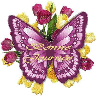 Bonjour du jour et bonsoir du soir - Page 2 Papill10