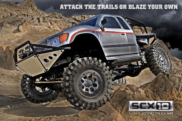 Nueva version de la SCX10 de Axial Scx10-10