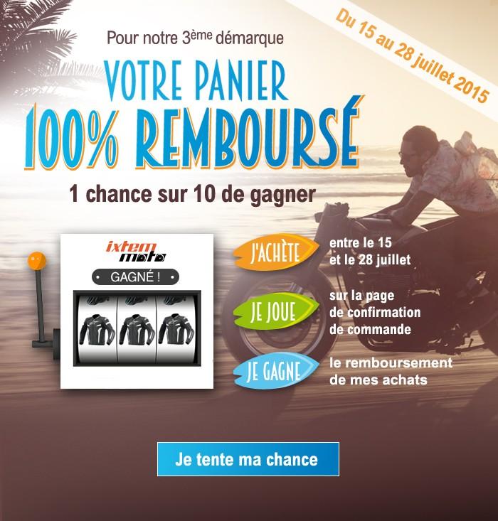 Gagnez votre panier avec Ixtem Moto Newlet10