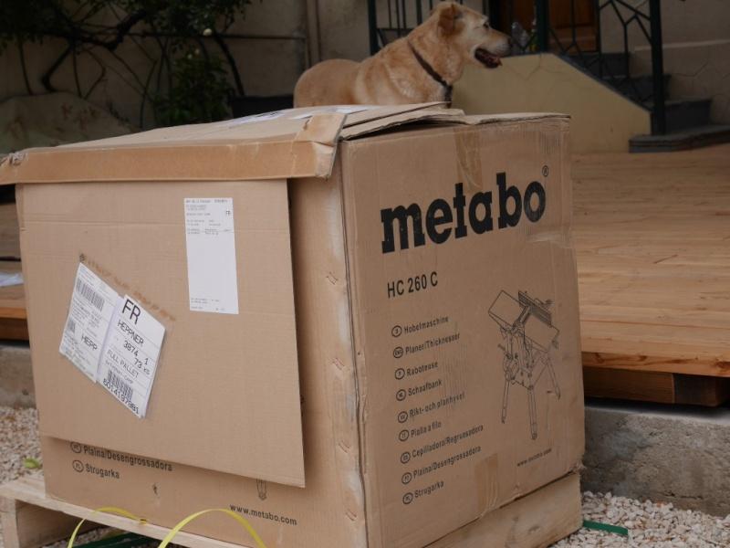 Raboteuse-dégauchisseuse METABO 260 C P1000210