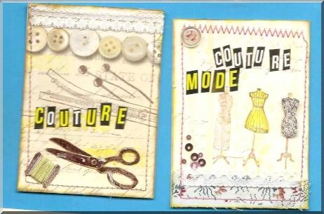 ATC Mai et Juin - Couture - Heidi111