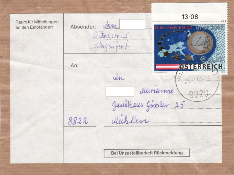 Sammlung Bedarfsbriefe Österreich ab 1945 - Seite 5 Img12