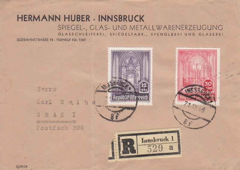 Sammlung Bedarfsbriefe Österreich ab 1945 - Seite 6 Img38