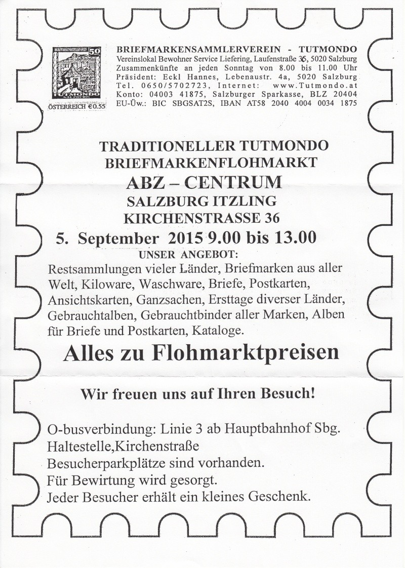 Traditioneller Tutmondo Briefmarkenflohmarkt in Salzburg Img40