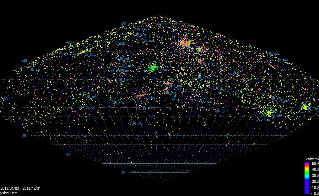 Mappa Triangolazioni IMTN 2013 Radian10