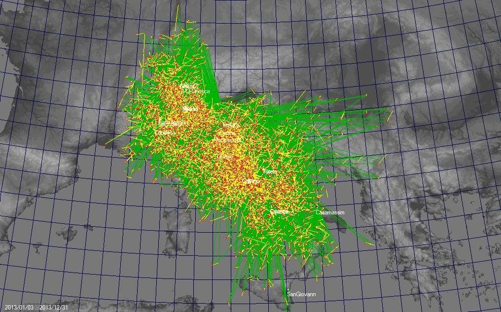Mappa Triangolazioni IMTN 2013 Triang11