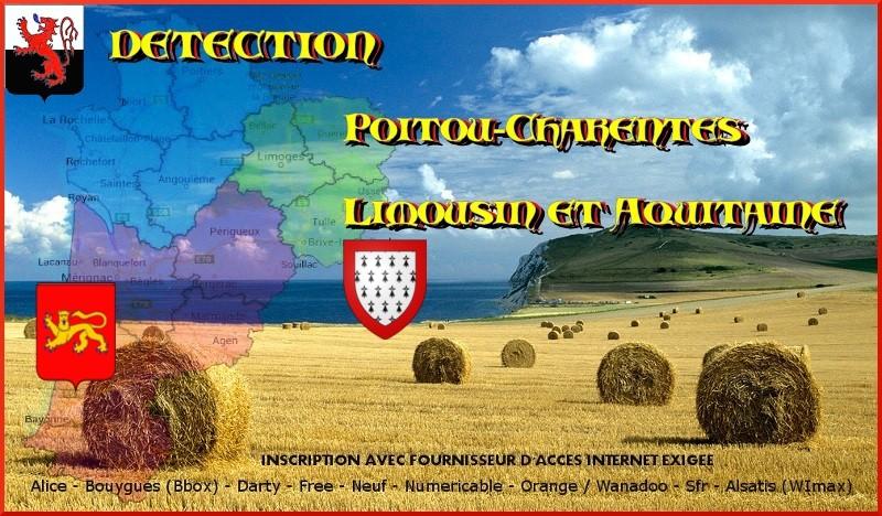 Détection Poitou-Charentes Aquitaine et Limousin