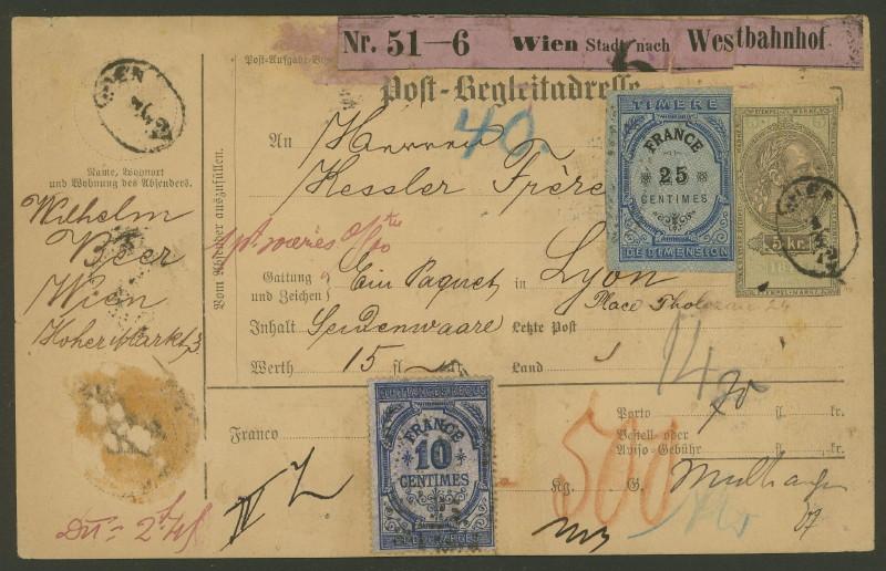Postbegleitadressen mit fiskalischem Werteindruck 001_wi10