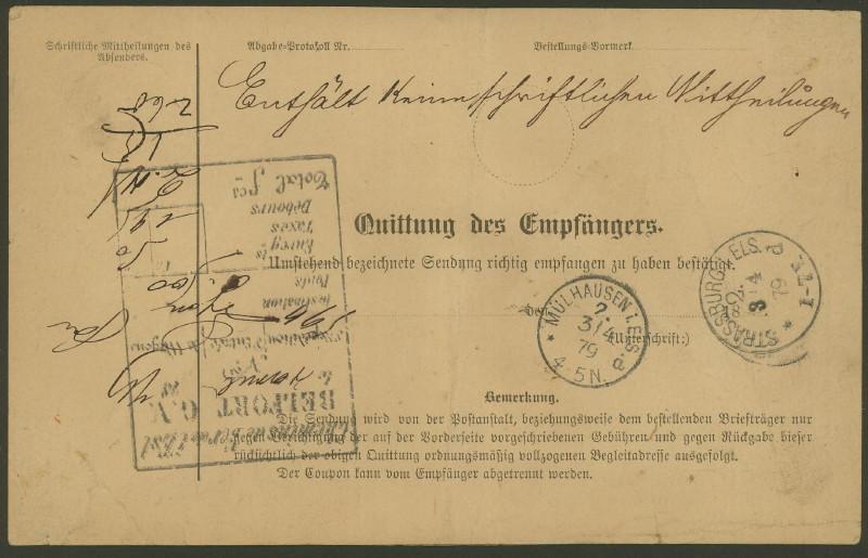 Postbegleitadressen mit fiskalischem Werteindruck 001_wi14
