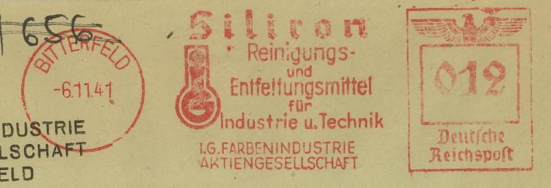 1945 - Freistempel / Absenderfreistempel Deutsches Reich (bis 1945) Bitter10