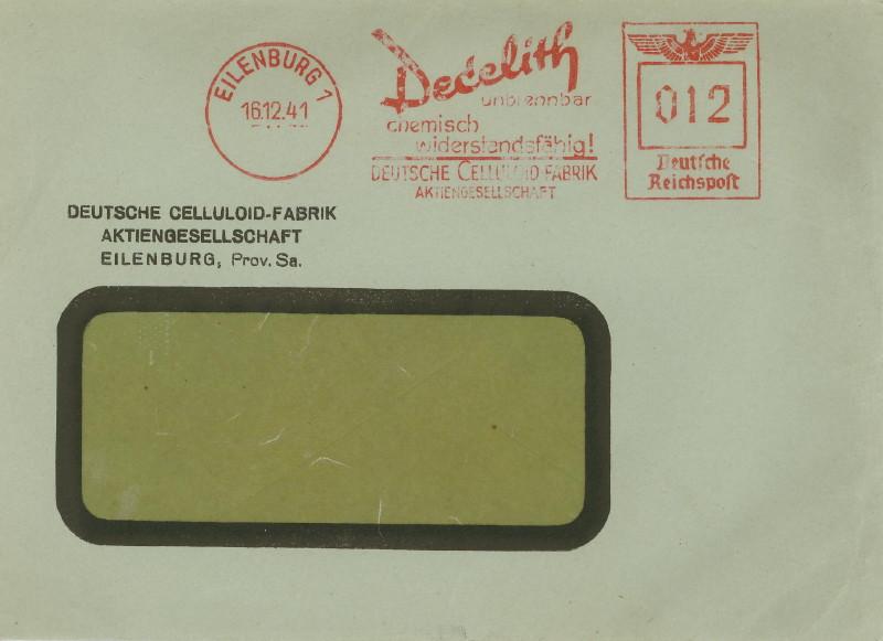 1945 - Freistempel / Absenderfreistempel Deutsches Reich (bis 1945) Eilenb11