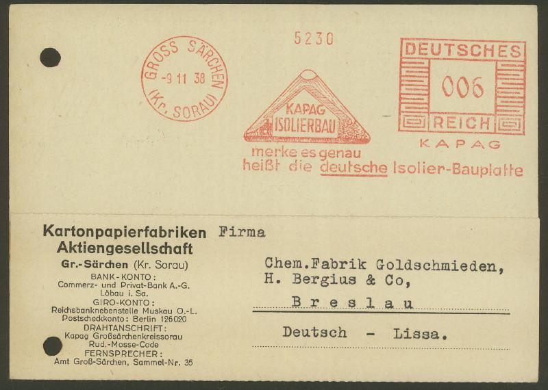 1945 - Freistempel / Absenderfreistempel Deutsches Reich (bis 1945) Gross_10