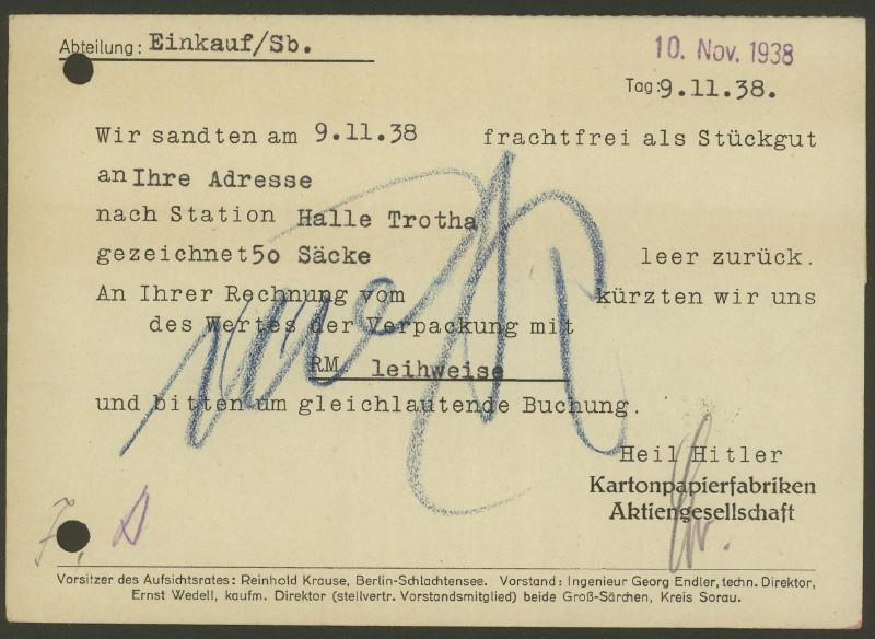 1945 - Freistempel / Absenderfreistempel Deutsches Reich (bis 1945) Gross_11
