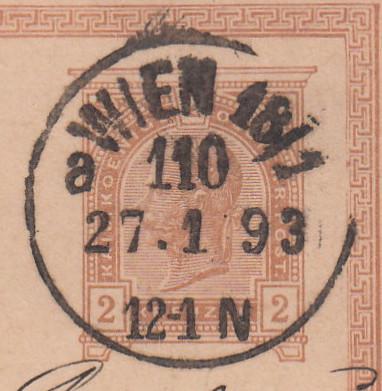 Die Poststempel von Wien Wien_211