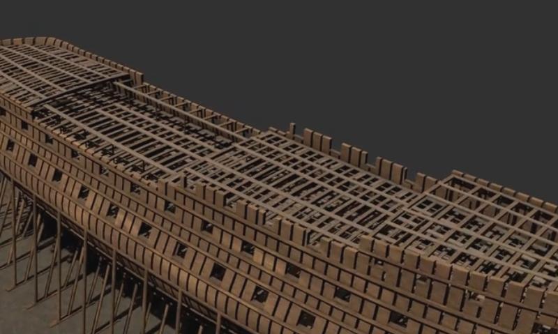 La Lucide - Vaisseau 74 canons (Création 3D) par Greg_3D 74_can10