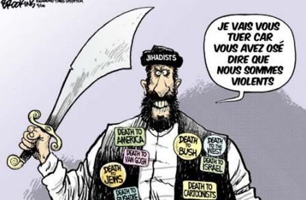 Pourquoi critiquer l'Islam  est un acte raciste et criminel. - Page 2 Djihad10