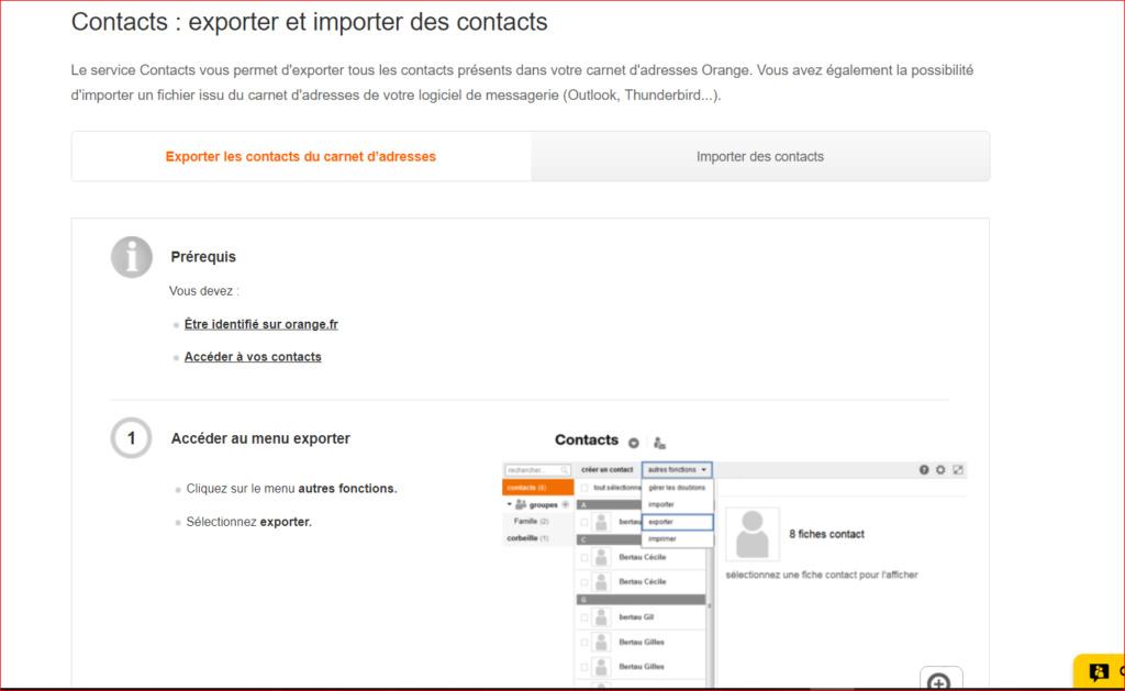 Sauvegarder ces contact orange Captur11