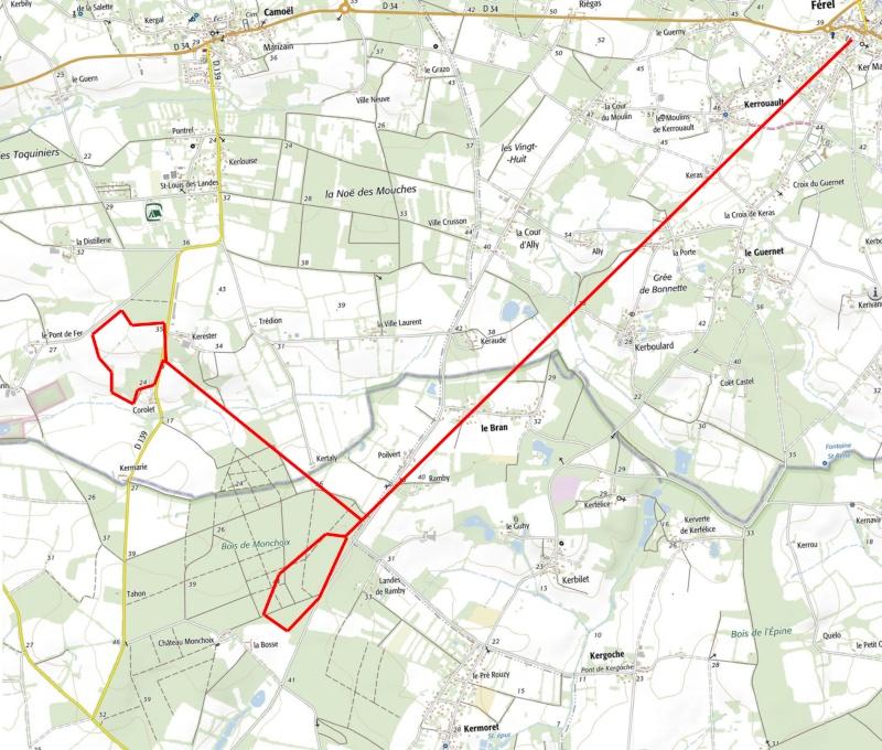 Tracking Grand murin à Férel Track_10
