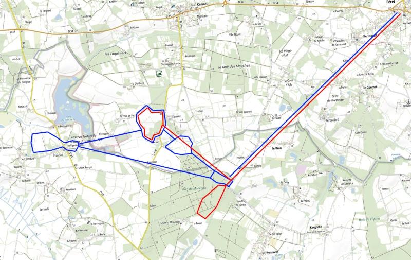 Tracking Grand murin à Férel Track_11