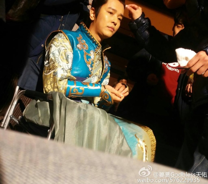 ACTUALIZACIONES SOBRE EL NUEVO DRAMA CHINO Wushen Zhao Zilong (武神赵子龙) donde participa nuestro Kim Jeong Hoon  - Página 3 15375010