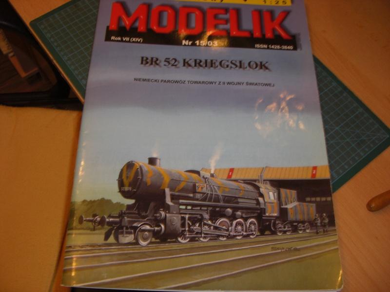 Fertig - Lok BR 52 von Modelik 1:25 gebaut von Lothar 00115