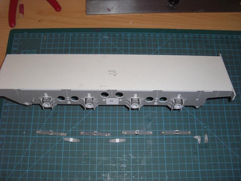 Fertig - Lok BR 52 von Modelik 1:25 gebaut von Lothar 01210