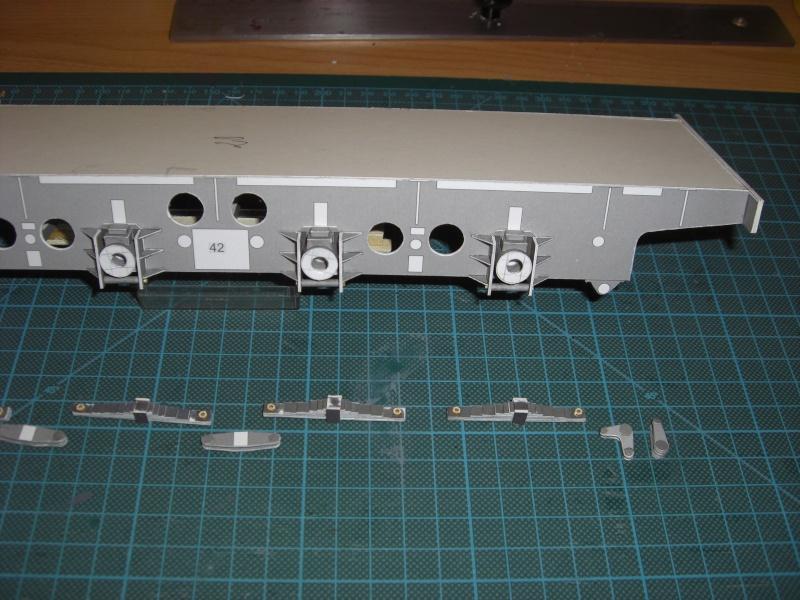 Fertig - Lok BR 52 von Modelik 1:25 gebaut von Lothar 01310