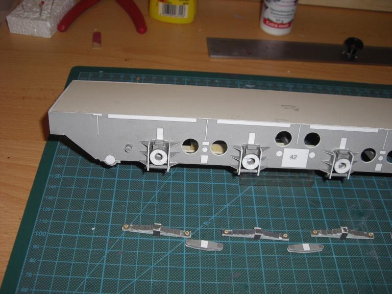 Fertig - Lok BR 52 von Modelik 1:25 gebaut von Lothar 01410