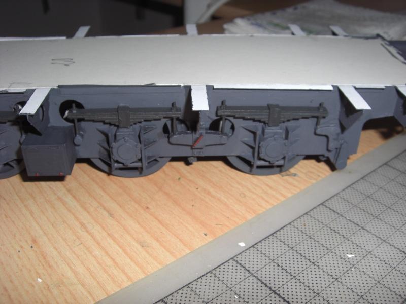 Fertig - Lok BR 52 von Modelik 1:25 gebaut von Lothar 0210