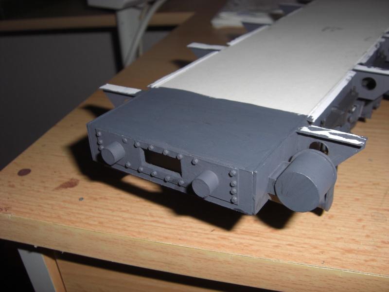 Fertig - Lok BR 52 von Modelik 1:25 gebaut von Lothar 02410