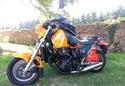 Triump 1200 XCX  -  Kawasaki 600 KLR + Side 20180812
