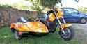 Triump 1200 XCX  -  Kawasaki 600 KLR + Side 20180813