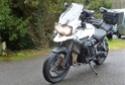 Triump 1200 XCX  -  Kawasaki 600 KLR + Side P1150915