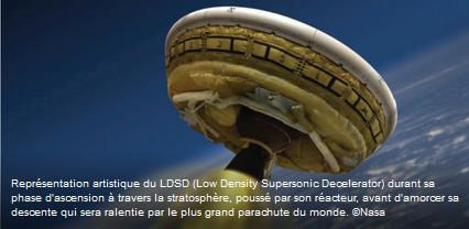 La Nasa va tester demain le plus grand parachute du monde Nasa10