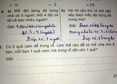 Những đề toán 'bá đạo' khiến học sinh chào thua 75460912