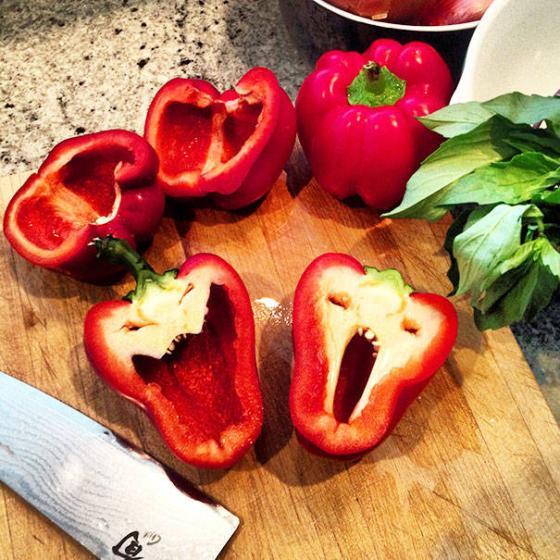 Những hình ảnh hài hước về rau củ Fruits14