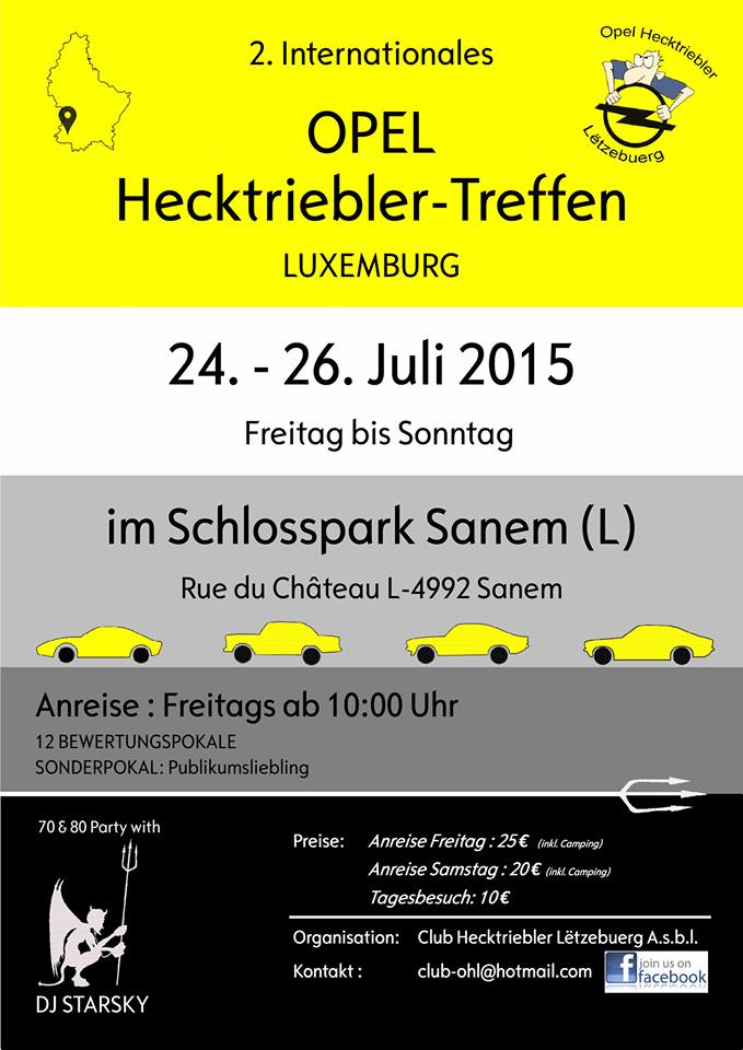 2. Internationales Opel Hecktriebler Treffen 2015 2_opel10