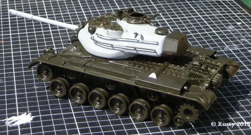M-47 PATTON 8eme Régiment de Dragons -  Port Saïd (Egypte) 1956 P6060011