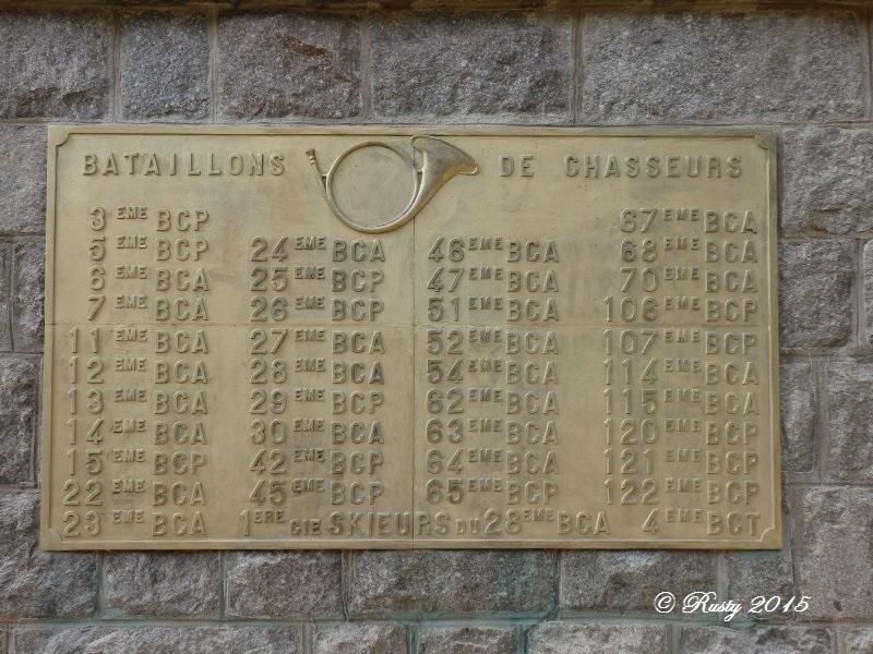Marcher dans leurs traces pour ne pas les oublier - Le Linge 1915 P8042514