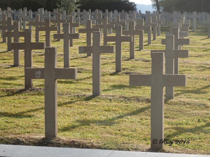 Marcher dans leurs traces pour ne pas les oublier - Le Linge 1915 P8042516