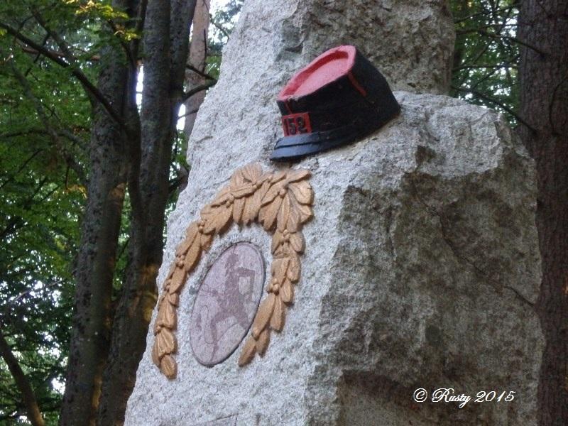 Marcher dans leurs traces pour ne pas les oublier - Le Linge 1915 P8042518