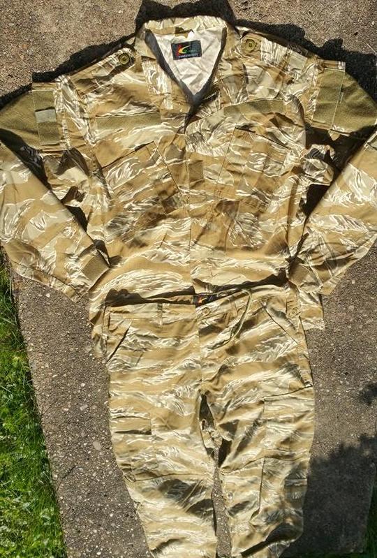Iraqi Desert Tiger Stripe Uniform 11269510