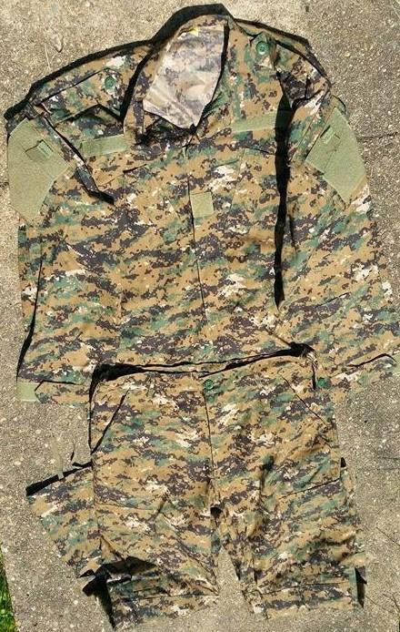 Iraqi Woodland MARPAT Uniform 11638010