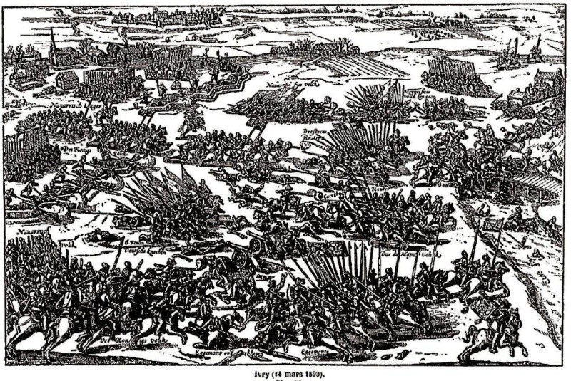 Les guerres de religion sous Henri IV. 12943910