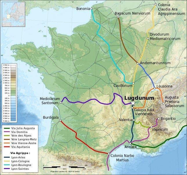 Les voies romaines. Voies-10