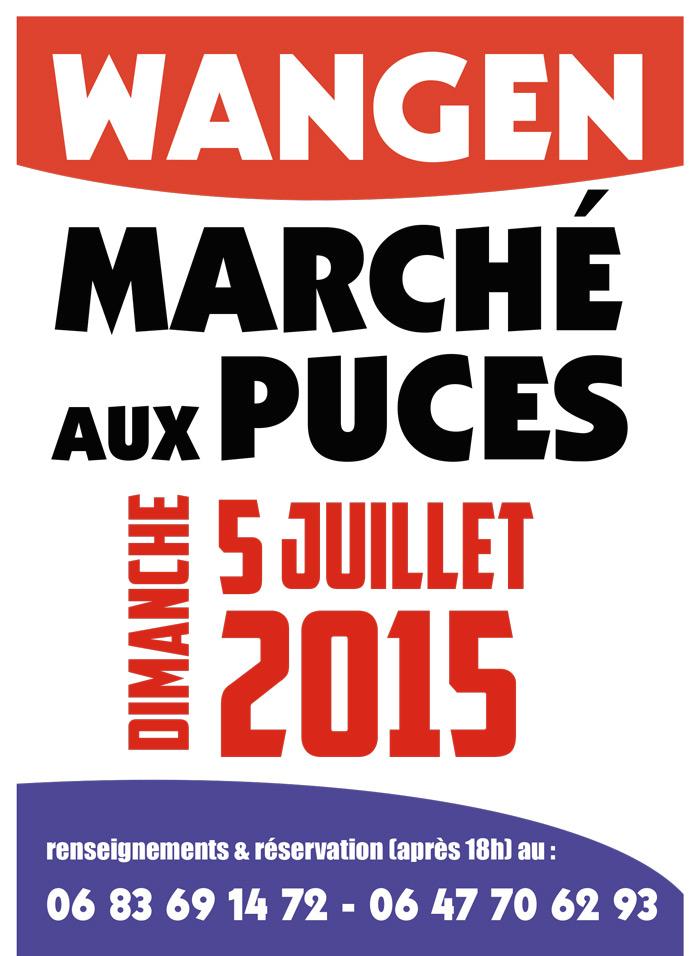 Fête de la Fontaine - Marché aux puces Affich11