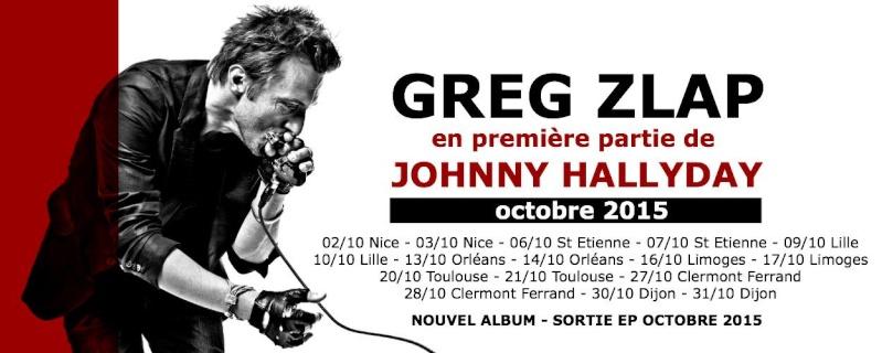 """Tournée 2015/2016 de johnny """"RESTER VIVANT """" Dates de tournée et Part 1 les festivals 10535710"""