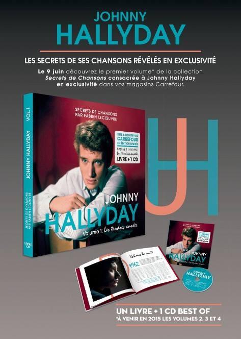 [livre +cd] Exclu carrefour le 09 juin 2015..Johnny le secret de ses chansons.. 11377310