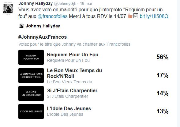 """Tournée 2015/2016 de johnny """"RESTER VIVANT """" Dates de tournée et Part 1 les festivals Captur11"""
