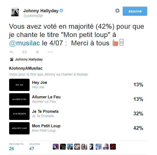 """Tournée 2015/2016 de johnny """"RESTER VIVANT """" Dates de tournée et Part 1 les festivals Captur14"""